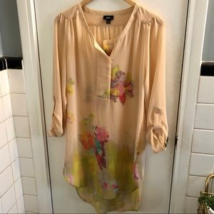 Mossimo Sheer Tunic Dress Medium